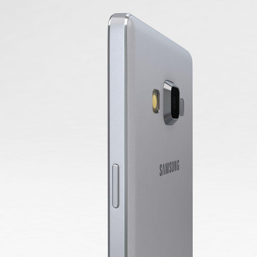 Samsung Galaxy A5 och A5 Duos Silver royalty-free 3d model - Preview no. 17