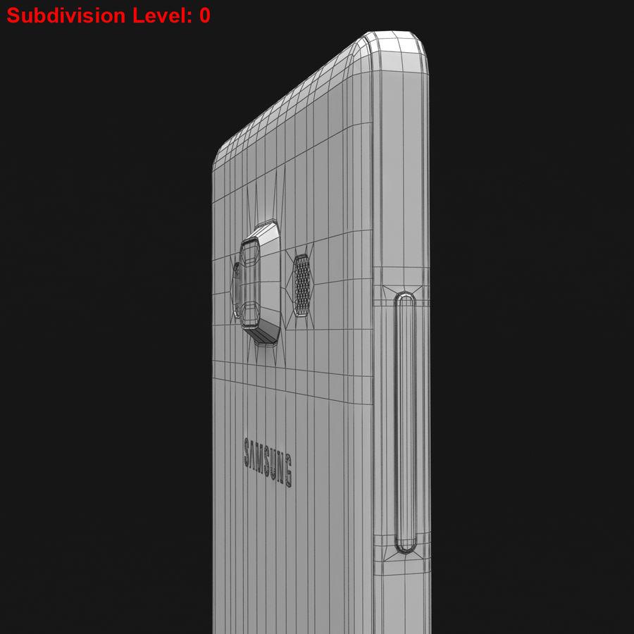 Samsung Galaxy A5 och A5 Duos Silver royalty-free 3d model - Preview no. 34