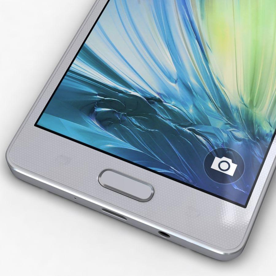 Samsung Galaxy A5 och A5 Duos Silver royalty-free 3d model - Preview no. 9