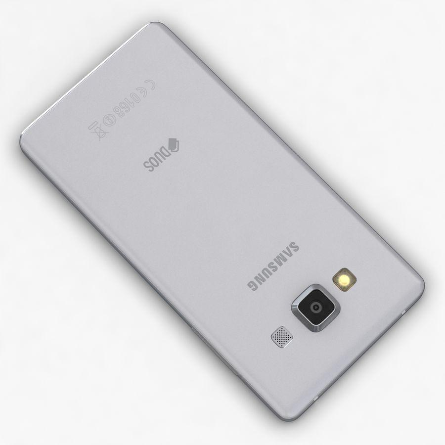 Samsung Galaxy A5 och A5 Duos Silver royalty-free 3d model - Preview no. 12