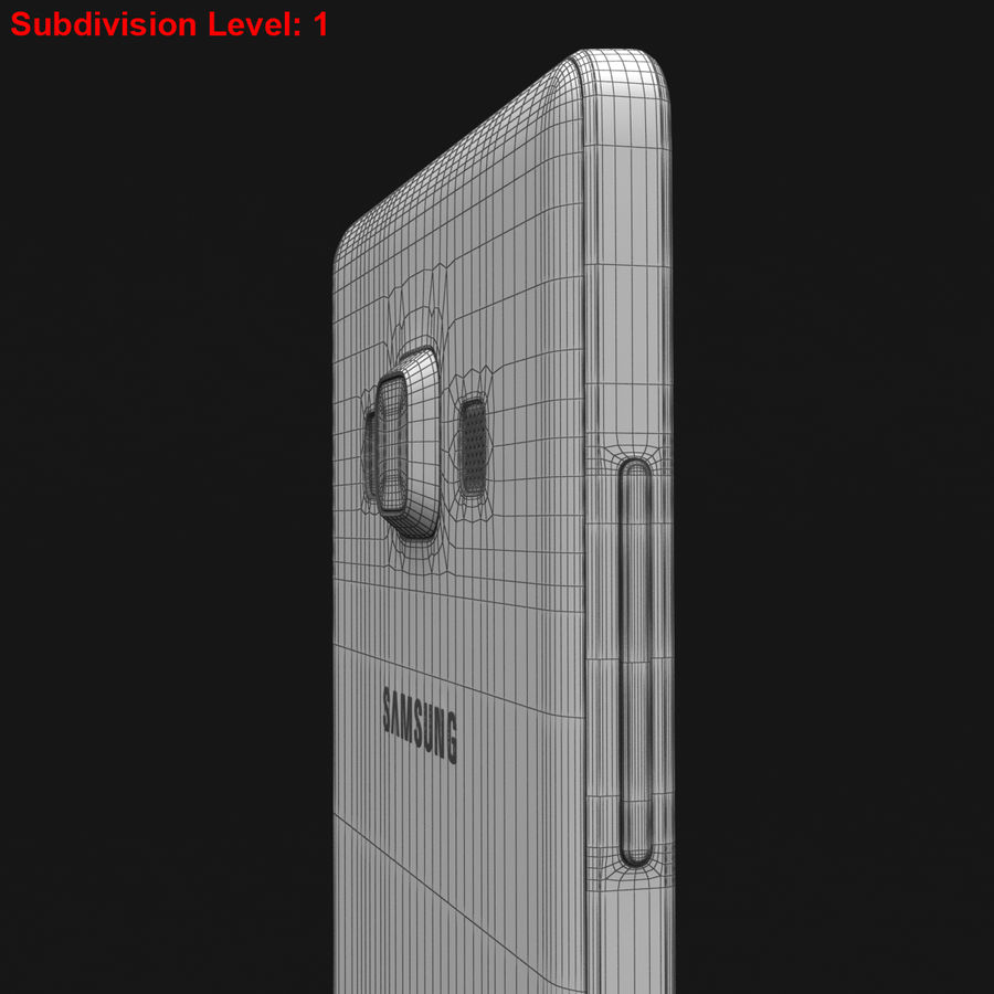 Samsung Galaxy A5 och A5 Duos Soft Pink royalty-free 3d model - Preview no. 33
