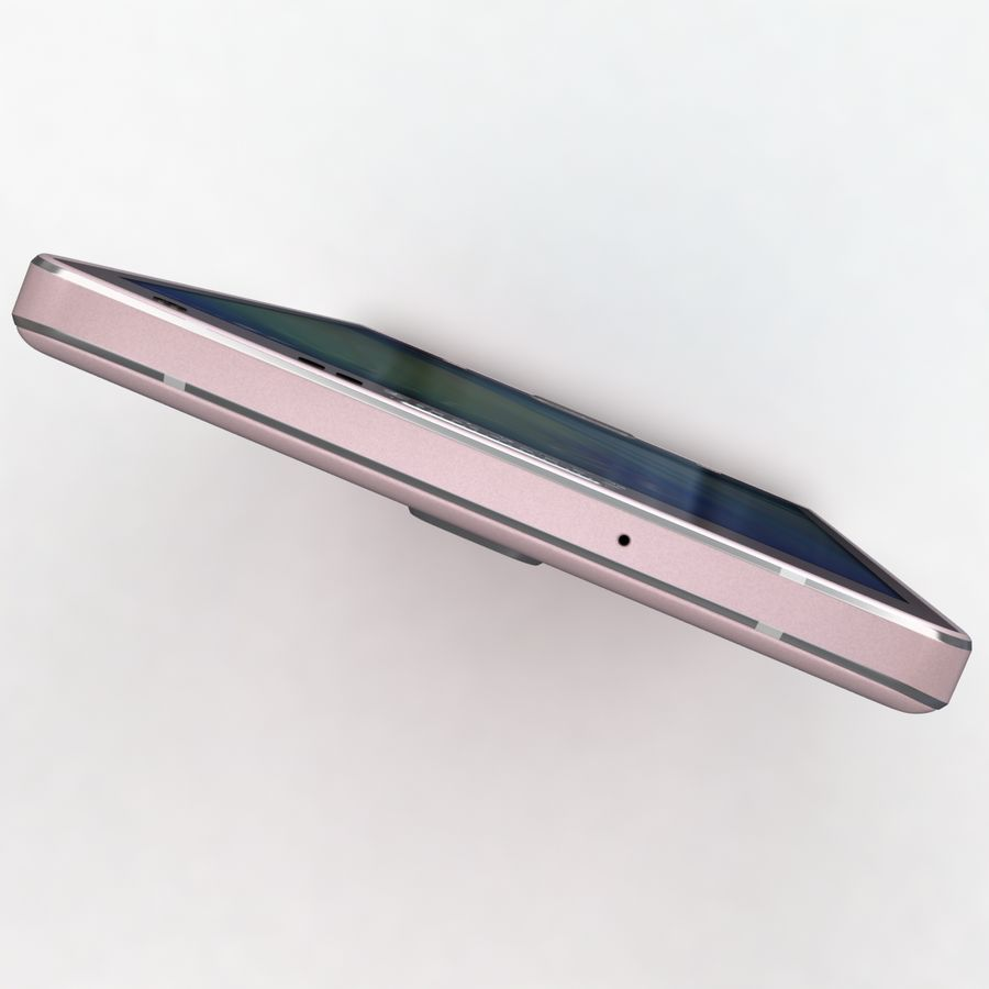 Samsung Galaxy A5 och A5 Duos Soft Pink royalty-free 3d model - Preview no. 22
