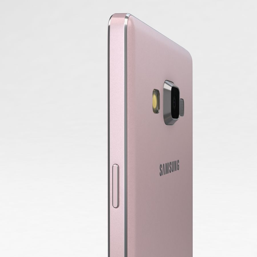 Samsung Galaxy A5 och A5 Duos Soft Pink royalty-free 3d model - Preview no. 17
