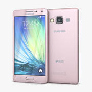 Samsung Galaxy A5 et A5 Duos rose tendre 3d model