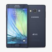 Samsung Galaxy A7 Midnight Black 3d model