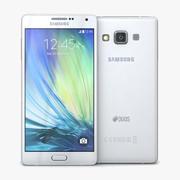 Samsung Galaxy A7 Pearl White 3d model