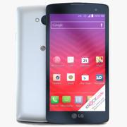 LGトリビュートホワイト 3d model