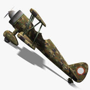 Army Airplane 3d model