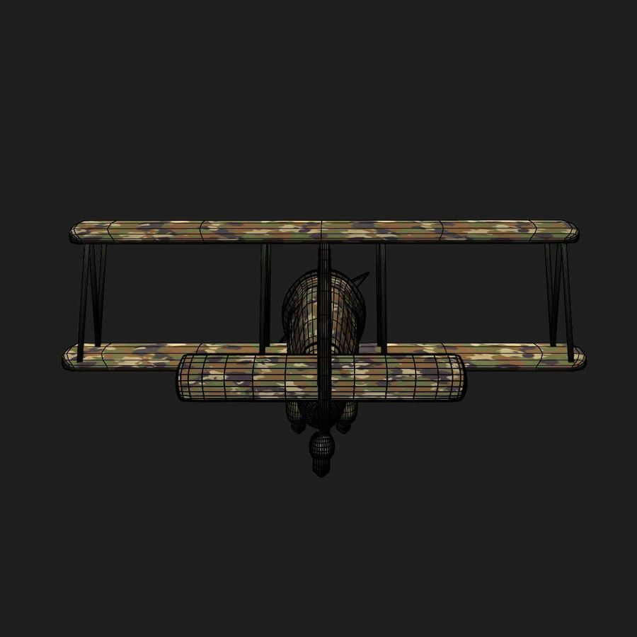Army Airplane royalty-free 3d model - Preview no. 16