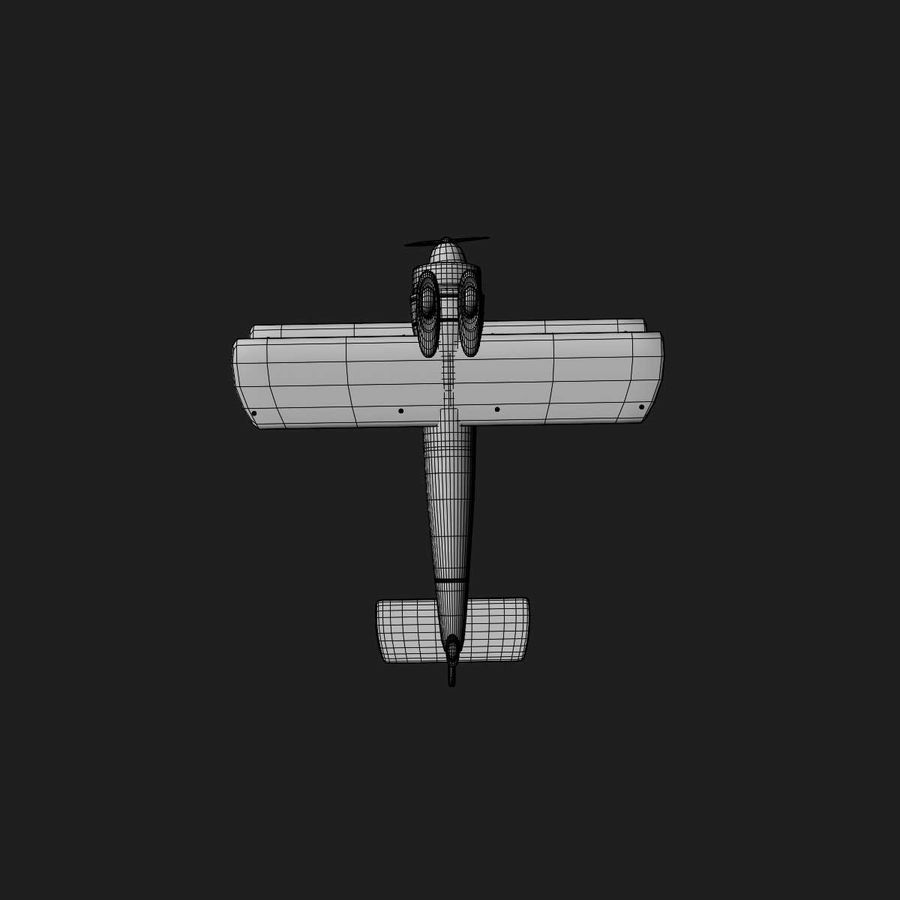 Army Airplane royalty-free 3d model - Preview no. 20