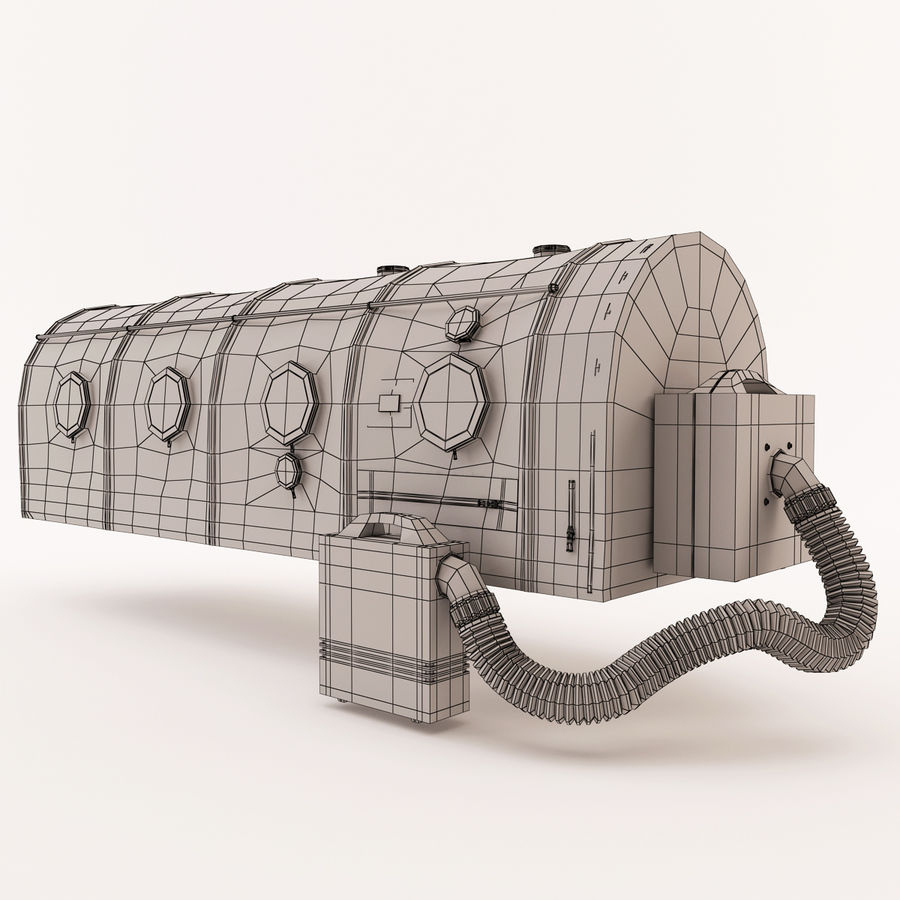 Transportation Chamber royalty-free 3d model - Preview no. 11