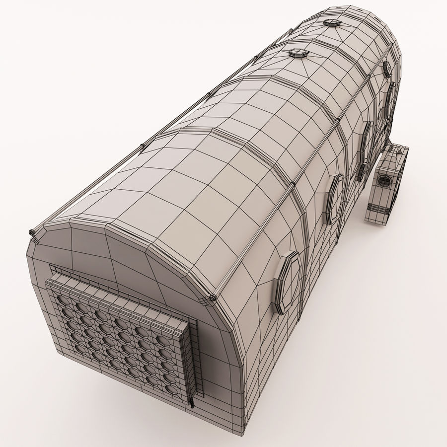 Transportation Chamber royalty-free 3d model - Preview no. 10