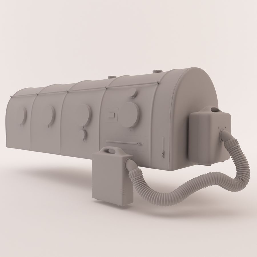Transportation Chamber royalty-free 3d model - Preview no. 13