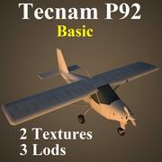 P92 Basic 3d model