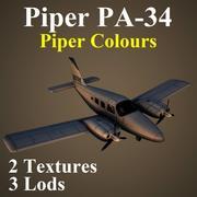 PA34 PIP 3d model
