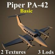 PA42 Basic 3d model