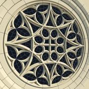 Gothic Rose Window - Collegiate of Covarrubias 3d model