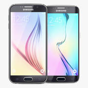 Samsung Galaxy S6 and Galaxy S6 Edge 3d model