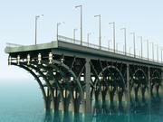 Мост (модуль) 3d model