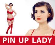 Pin Up Lady 3d model