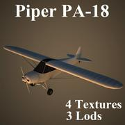 PA18 3d model