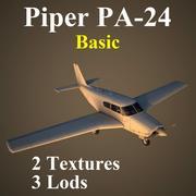 PA24 Basic 3d model