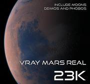 Vray Mars Real 23K 3d model