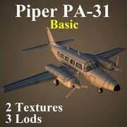 PA31 Basic 3d model