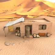Antigua casa egipcia modelo 3d