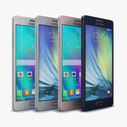 Samsung Galaxy A5 and A5 Duos All Color 3d model