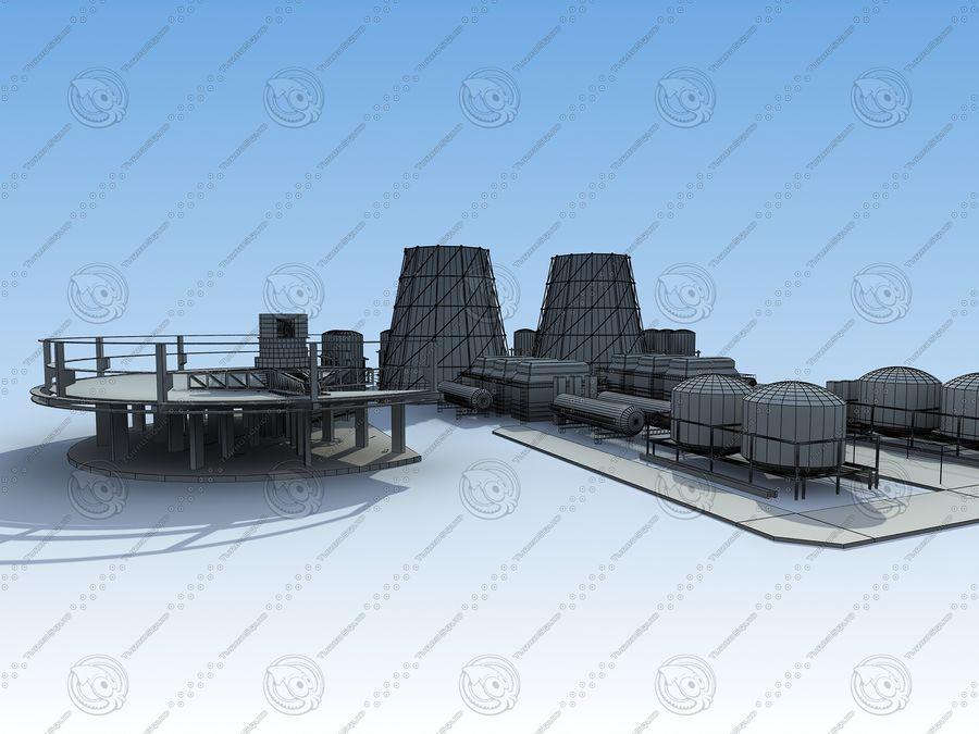Architektura przemysłowa royalty-free 3d model - Preview no. 13