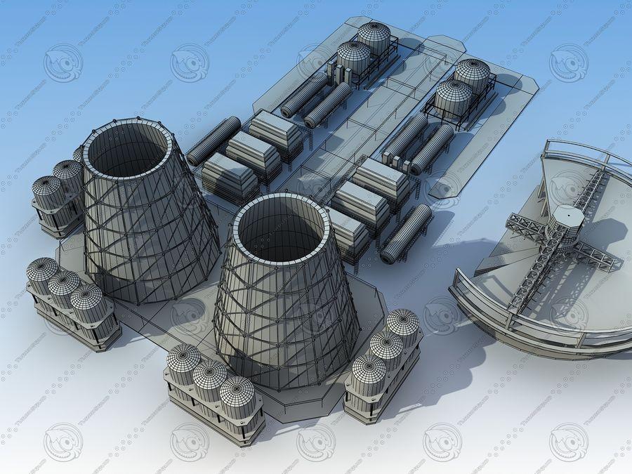 Architektura przemysłowa royalty-free 3d model - Preview no. 10