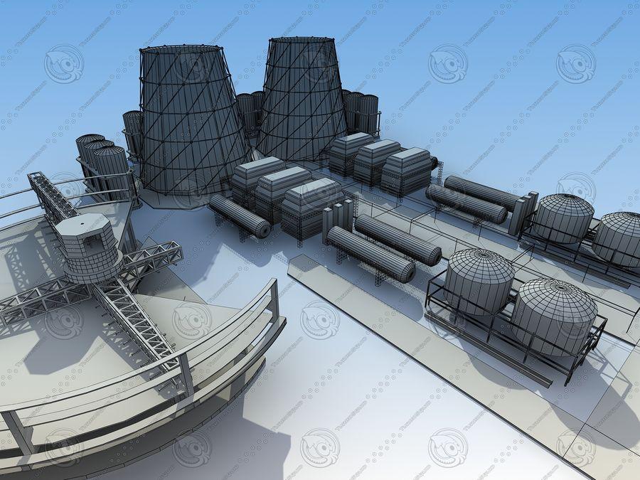 Architektura przemysłowa royalty-free 3d model - Preview no. 15