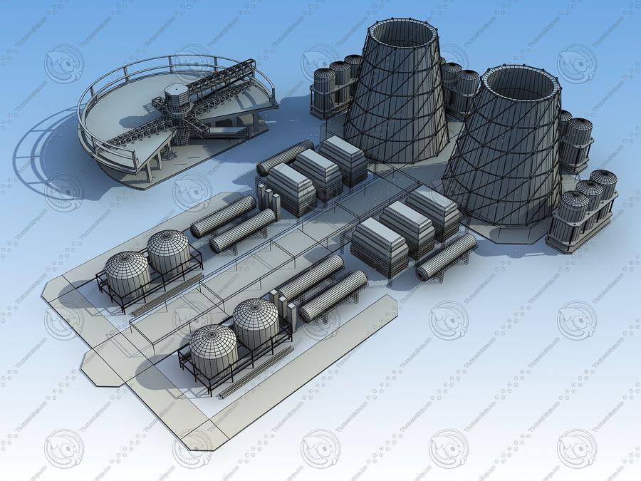 Architektura przemysłowa royalty-free 3d model - Preview no. 9