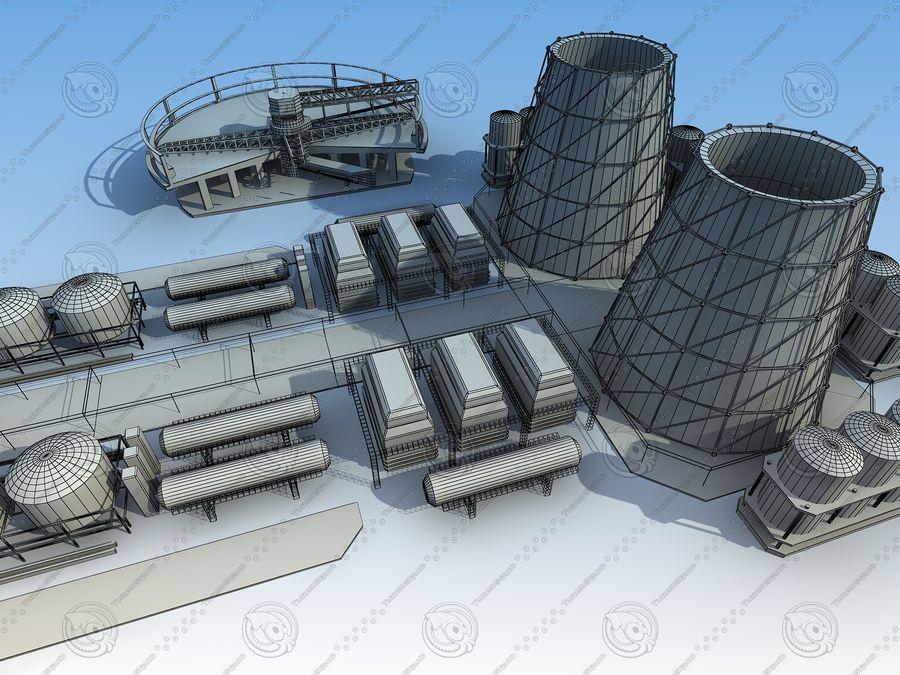 Architektura przemysłowa royalty-free 3d model - Preview no. 16