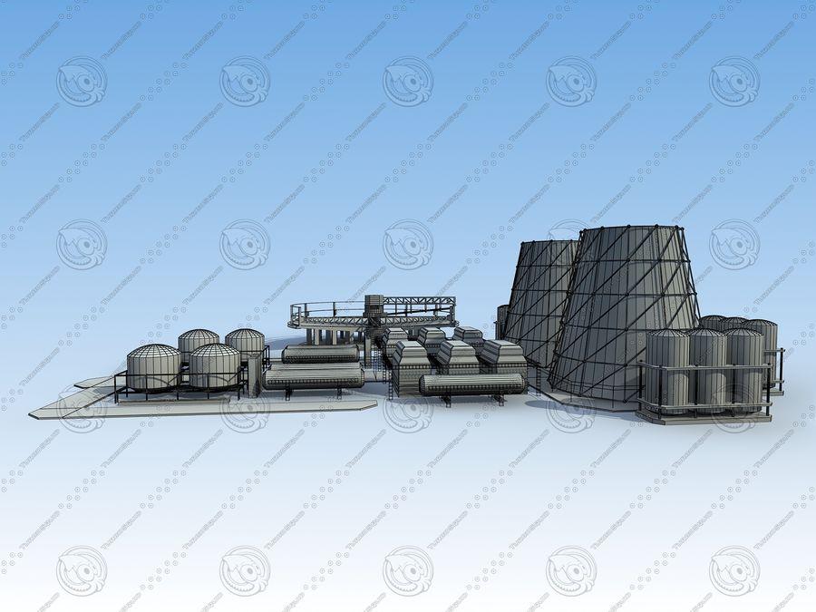 Architektura przemysłowa royalty-free 3d model - Preview no. 14