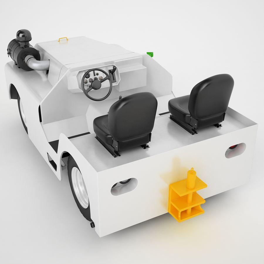 航空機牽引トラクター04 royalty-free 3d model - Preview no. 11