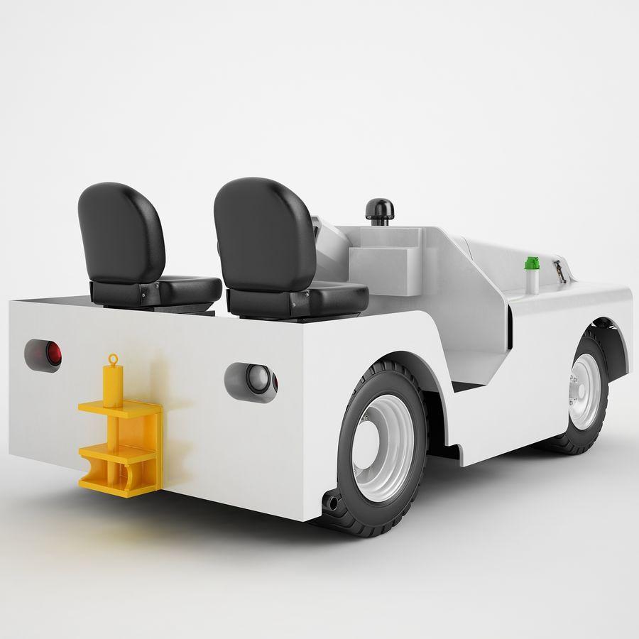 航空機牽引トラクター04 royalty-free 3d model - Preview no. 5