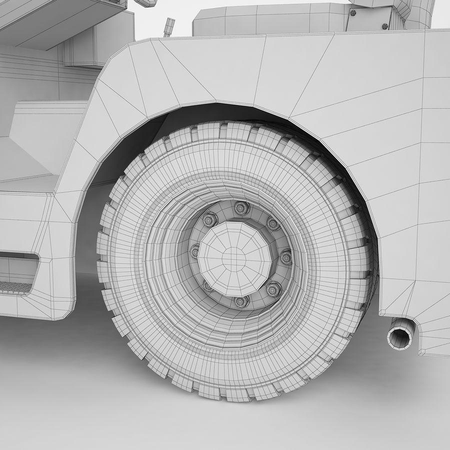 航空機牽引トラクター04 royalty-free 3d model - Preview no. 32