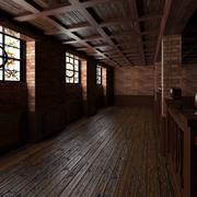 Base Pub Interior 3d model