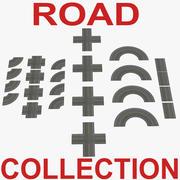 Road Big Collection 3D Modelleri 3d model