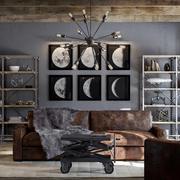 Industrial Living room 3d model