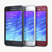 Samsung Z1 All Colors 3d model
