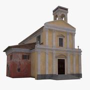 Kościół włoski 3d model