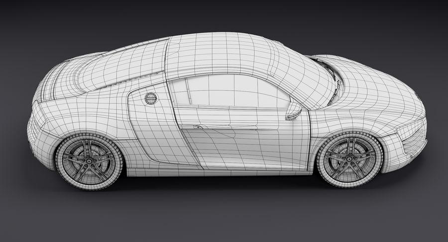 Audi R8 royalty-free 3d model - Preview no. 36