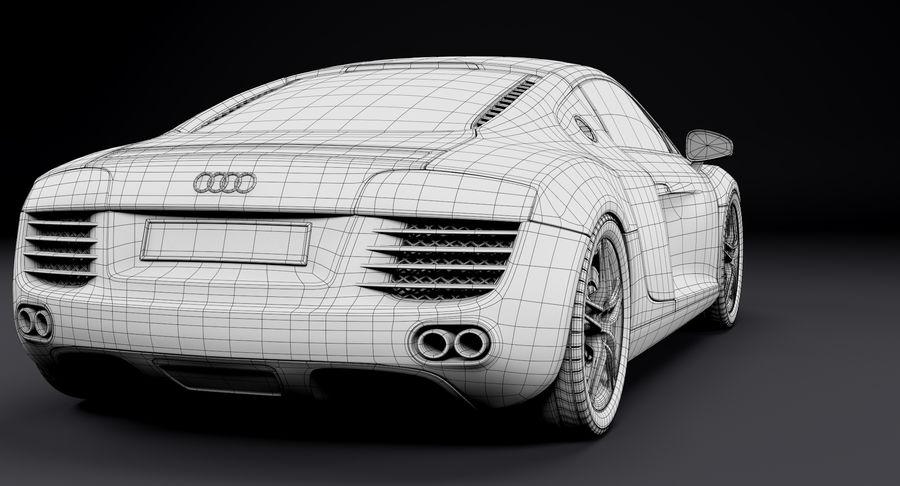 Audi R8 royalty-free 3d model - Preview no. 32
