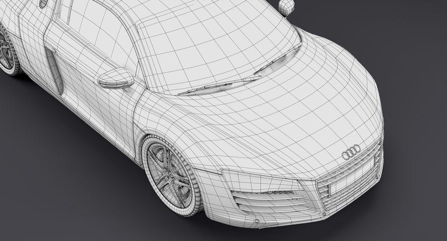 Audi R8 royalty-free 3d model - Preview no. 41