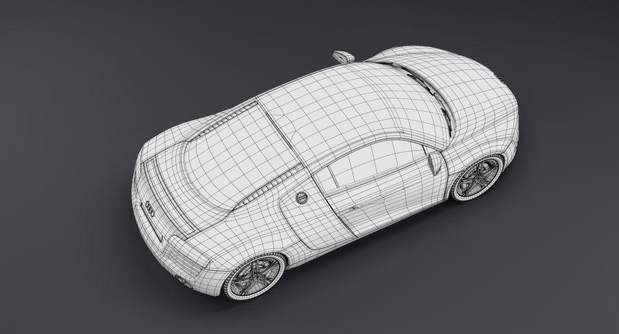 Audi R8 royalty-free 3d model - Preview no. 40