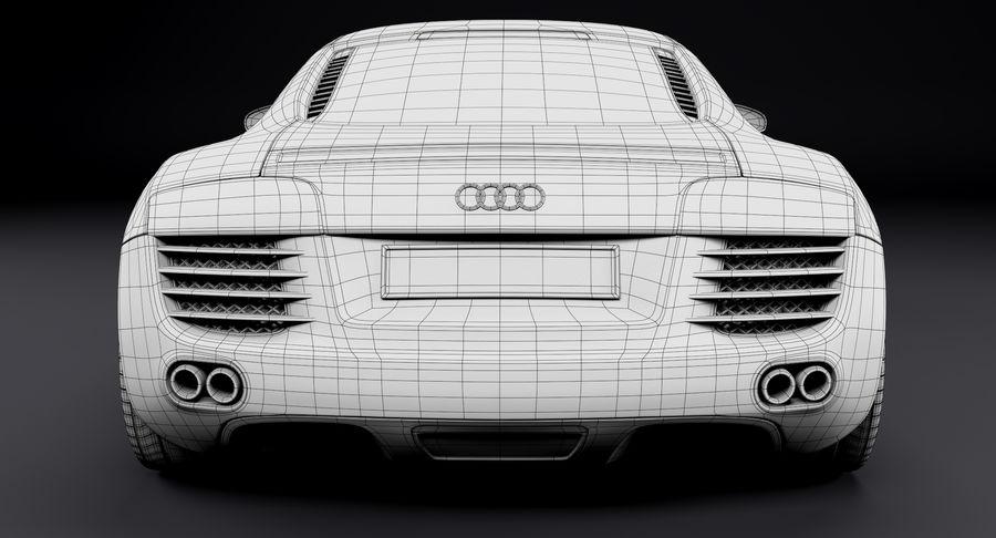 Audi R8 royalty-free 3d model - Preview no. 38