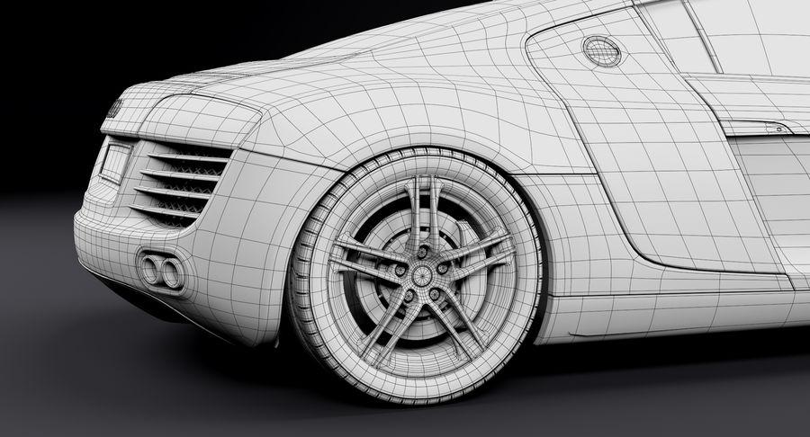 Audi R8 royalty-free 3d model - Preview no. 35